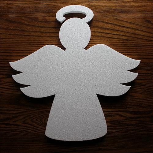 Wycięty aniołek z eps (styropianu)